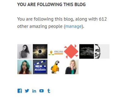 blog followers