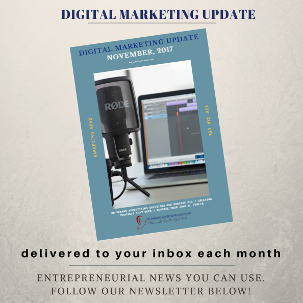 Digital Marketing Update Tan Cover